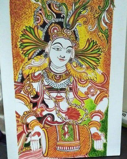Indian canvas art