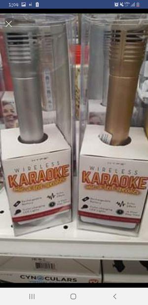 New karaoke microphone & speaker for Sale in Los Angeles, CA