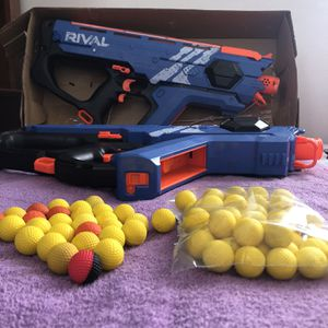 Two Nerf Perses With 100 Rounds for Sale in West Covina, CA