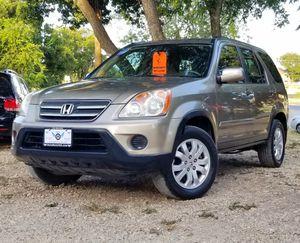 2006 Honda CRV 4WD w/163k miles for Sale in San Antonio, TX
