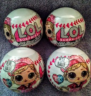 BRAND NEW! 4 ~ LOL SURPRISE! ALL-STAR BB'S (AGES 4+) for Sale in HUNTINGTN BCH, CA