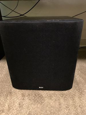 Bowers and Wilkins ASW 600 audiophile subwoofer for Sale in Seattle, WA