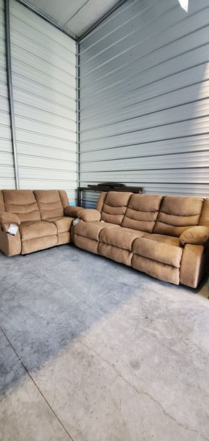 New Reclining Sofa and Loveseat Recliner Very Comfortable for Sale in Orlando, FL