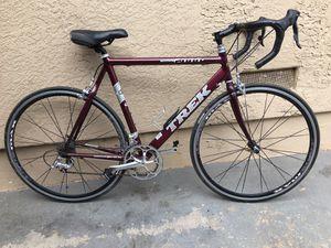 trek road bike aluminum with carbon 59cm for Sale in San Diego, CA