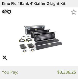Kino Flo Photography and Video Lighting Kit Professional for Sale in Oakton, VA