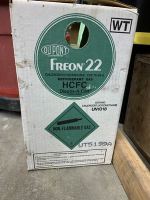 R-22 Freon full tank for Sale in Lytle Creek, CA