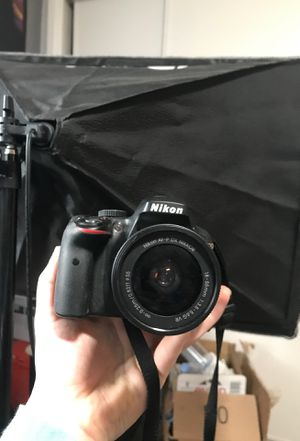 Nikon d3300 new condition for Sale in Los Angeles, CA