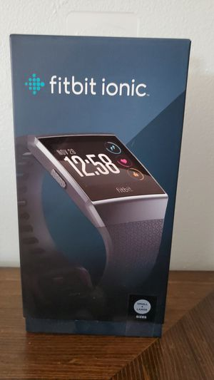Fitbit Ionic for Sale in Albuquerque, NM