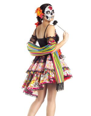 Day of the dead Halloween costume for Sale in Marietta, GA