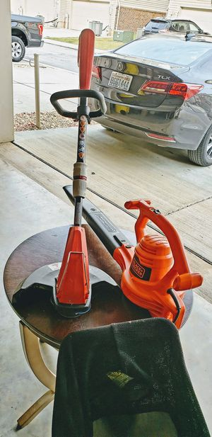 Black Decker Leaf Blower and Landscape Edge for Sale in Jessup, MD