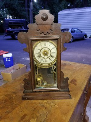 Wind up antique clock for Sale in Lake Oswego, OR