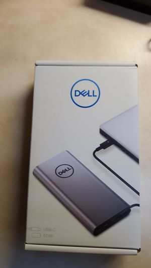 Dell power bank plus. USB-C PW7018LC for Sale in Puyallup, WA