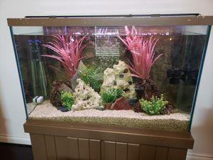 110 Gallon Fish Tank w/ Stand for Sale in Magnolia, TX