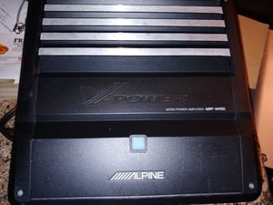 Alpine MRP-M450 monoblock Class D amplifier for Sale in La Vergne, TN