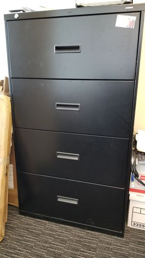 Metal office cabinet for Sale in Silver Spring, MD