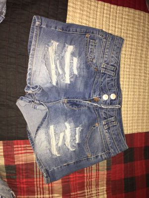 Woman distressed jeans shorts for Sale in Indianapolis, IN