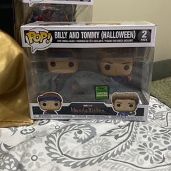 Billy and Tommy (Halloween)- 2021 Spring Convention Limited Edition Exclusive Funko Pop for Sale in Alexandria,  VA