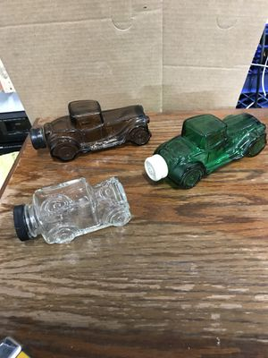 Avon collectibles men's aftershave. Glass cars. for Sale in Watauga, TX