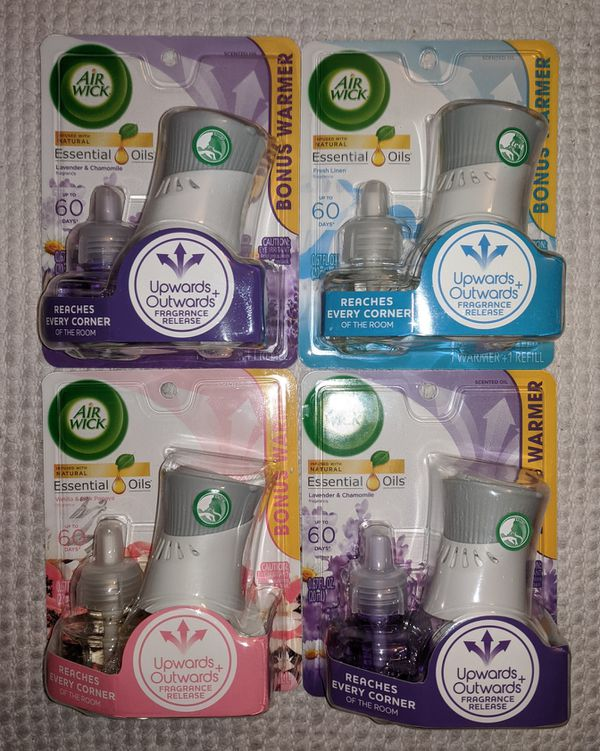 AirWick Scented Oil Plug In Starter Set Bundle