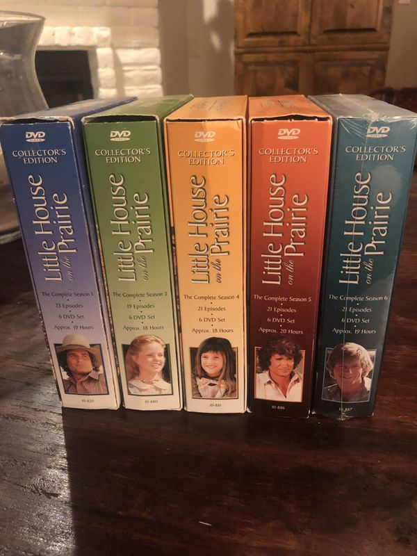Little House on the Prairie- Boxed DVDs