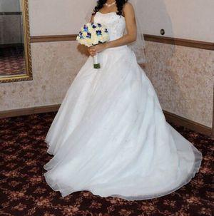 David's Bridal Princess Style, Sweetheart, White Wedding Dress for Sale in Pembroke Pines, FL