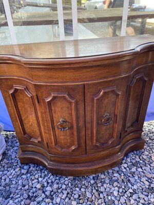 Dresser entry console table chest cabinet for Sale in Glendora, CA
