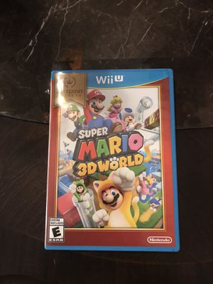 Super Mario 3D World - Nintendo Wii U #Video game for Sale in Haines City, FL