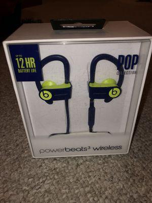 Power beats 3 wireless earphones for Sale in Sacramento, CA