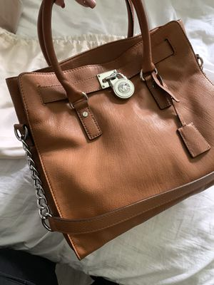 Michael Kors Leather Hamilton Tote Bag for Sale in Lutz, FL