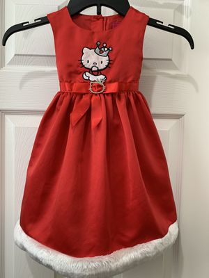 Hello Kitty holiday dress -Size 2T for Sale in Chula Vista, CA