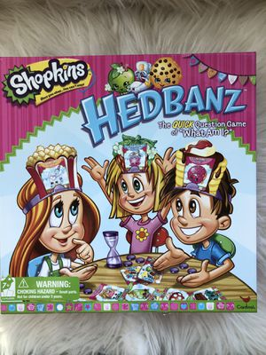 Spin Master Shopkins Hedbanz (Headbands) Game -Everybody Knows But You! for Sale in Mentor, OH