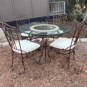 Outdoor Patio Set 4 Chairs Table for Sale in San Diego, CA