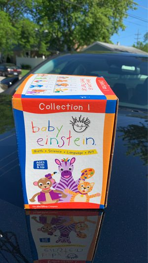 Baby Einstein Collection 1 unopened (9pieces) DVD's for Sale in Melrose Park, IL