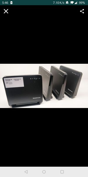Lot of 10 Sagemcom fast 5260 DNS READY for Sale in Stanton, CA