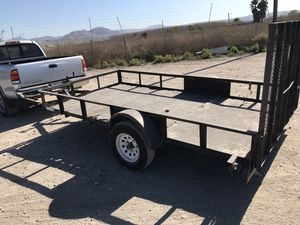 04 ronco 6 x12 with gate utility trailer for Sale in El Cajon, CA