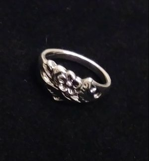 Silver Plated Flower Ring Sizes 7 and 8 for Sale in Pico Rivera, CA
