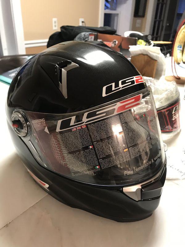 LS2 snowmobile helmet