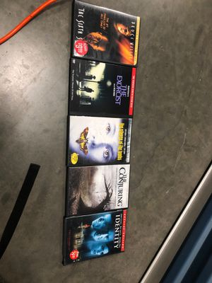 5 great dvd all excellent condition $15 for all for Sale in Spring Valley, CA