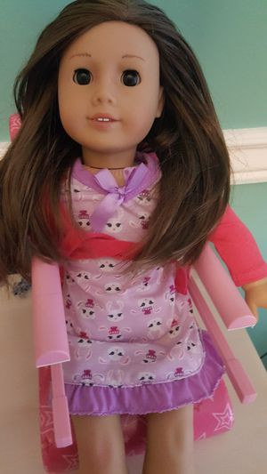 Authentic American Girl doll and accessories for Sale in Pompano Beach, FL