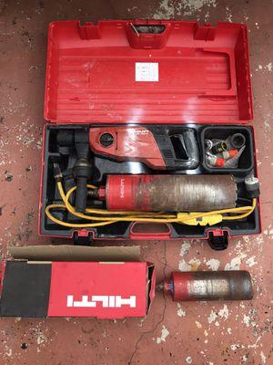 Hilti DD 150-U Diamond Core Concrete Coring Drill Stand & 2 Core Bits, Concrete Coring Drill for Sale in FL, US