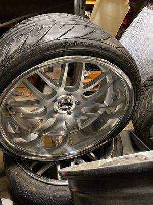 """5x114.3""""20x11 rims and tires for Sale in Marysville, WA"""