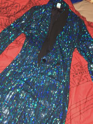 Blue Sequined suit dress, recently bought in February‼️ for Sale in Washington, DC