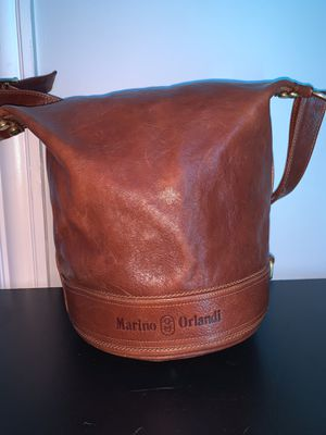 cherry brown Marino Orlandi bucket bag for Sale in Evanston, IL