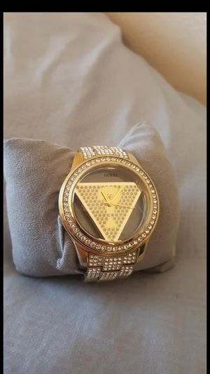 Gold Watch GUESS Bling for Sale in Poway, CA