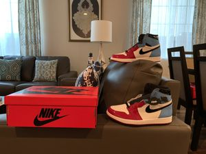 Air Jordan 1 fearless with proof of purchase size 9.5 for Sale in Concord, CA