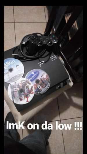 Ps3 with games and controller !!!! for Sale in Bell Gardens, CA