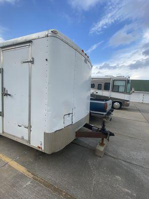2010 Cargo mate trailer barn door. for Sale in Dickinson, TX