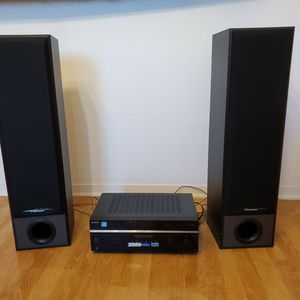 AM/FM Receiver and Amplifier Plus Speakers for Sale in San Diego, CA