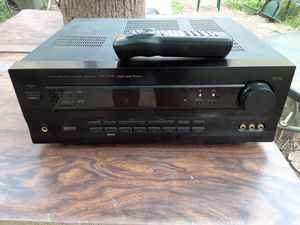 500 watts Pioneer surround sound receiver with remote control for Sale in Washington, DC