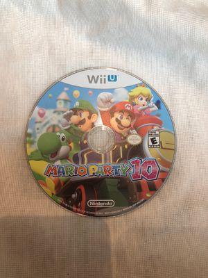 Mario Party 10 Nintendo Wiiu for Sale in Miami, FL